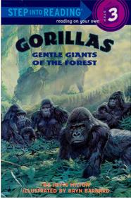 Step into reading:Gorillas  L3.2