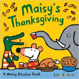 Maisy:Maisy's Thanksgiving Sticker Book