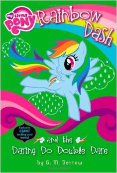 My little pony:Rainbow Dash and the Daring Do Double Dare   L5.0