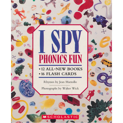 I spy:I Spy Phonics Fun Boxed Set With