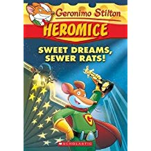 Geronimo Stilton Heromice #10: Sweet Dreams, Sewer Rats!  L3.8