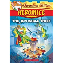 Geronimo Stilton:The Invisible Thief  L4.1