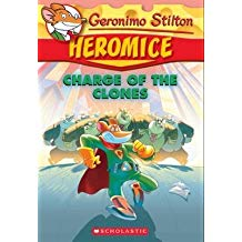 Geronimo Stilton Heromice #8: Charge of the Clones   L4.1