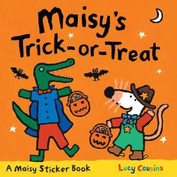 Maisy:Maisy's Trick-or-Treat Sticker Book